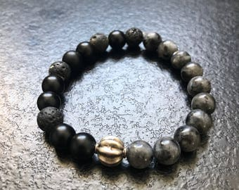 Natural pearls and silver