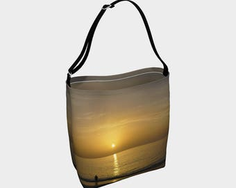Sunset Day Totes Market Tote Bag Photography Tote Bag Handmade Tote Bag Beach Tote Bag Bahamas Souvenir Sunset Photography