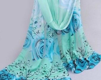Blue/grey hijab
