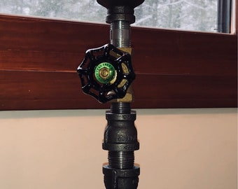 Steampunk table lamp by STEAMPUNKPRO