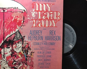 Vintage My Fair Lady Vinyl Record