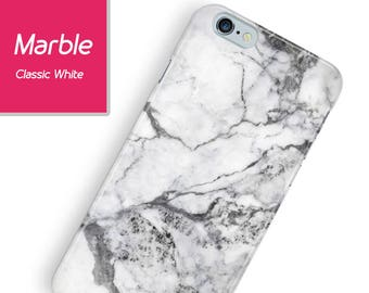 Classic Marble iPhone case, marble iPhone case, iphone 8 black - white marble case, marble iphone 7, marble iPhone 6, galaxy s8 marble case