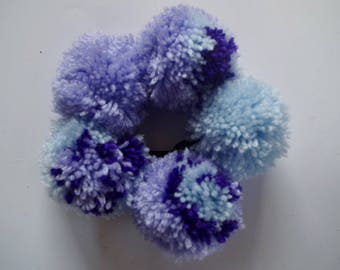 Mermaid Festival Pompom headband