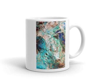 Crystal Cave Design Mug 11 OZ