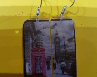 London earrings