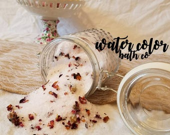 Sweet baby rose bath salts