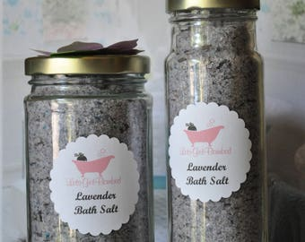 Luxurious Lavender Bath Salt