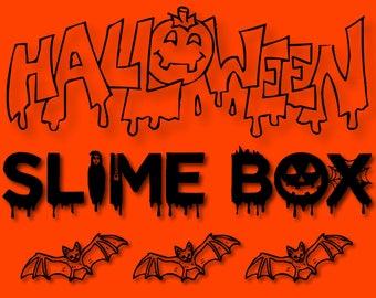 Halloween Slime Box!