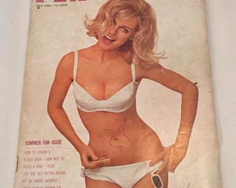 July, August, and October of Playboy Magazine 1964