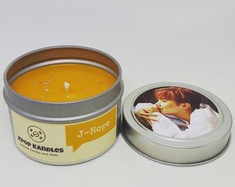 JHope- 4OZ -Scented Candle- BTS- DNA Era- Bangtan- Bangtan Boys- Kpop- Kpop Candle- Kpop Gifts- Soy Candle- Hobi- Hallyu- Korean