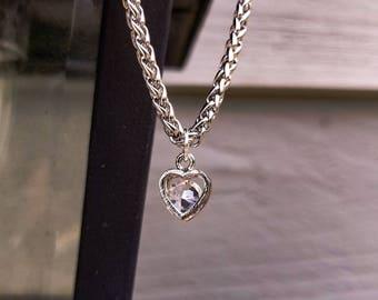 Cute Heart Charm Bracelet