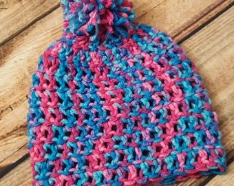 Rainbow Baby Beanie Hat