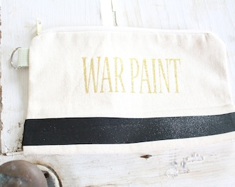 War Paint Make Up Bag