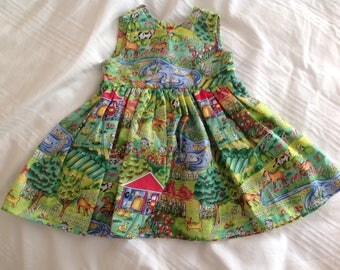 Toddlers Summer dress size 6 months.