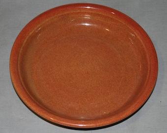 Bauer Pottery Hi-Fire Pie Plate