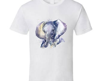 Cute Baby Elephant Vintage T-shirt