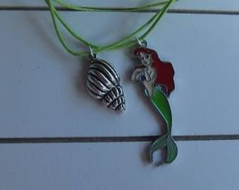 Ariel Little Mermaid necklace