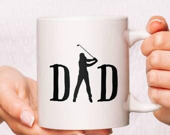 Dad Golf Mug | Dad Golf Gifts | Papa Golf Gifts | Golf Dad Gifts | Golf Father Gift | Gift for Dad Golf | Dad Golf Mug | Dad Golf