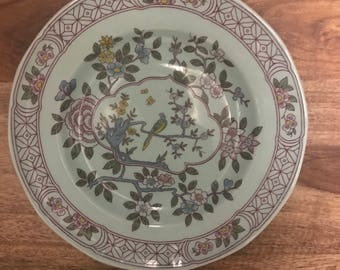 SINGAPORE BIRD - Lunch Plate -  Adams  Calyx Ware - Lunch Plate - Set of 4