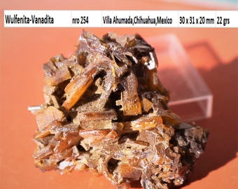 Wulfenite vanadinite NRO 254