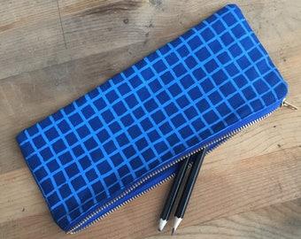 Grid Pencil Case
