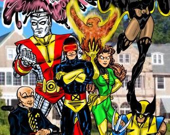 The Uncanny X-Men Print 11 x 17