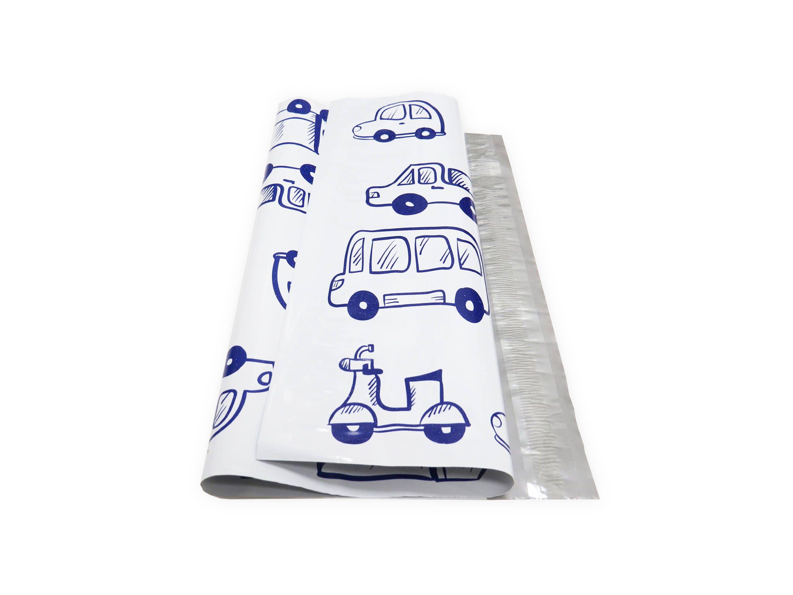"Designer Truck 100 PCS 10"" x 13"" Poly Mailers Shipping Supply"