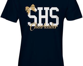 SHS Cheerleader Glitter Tshirt