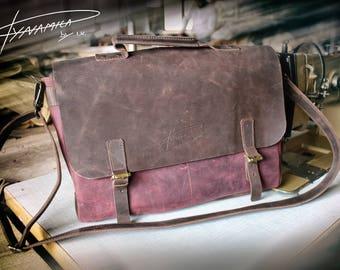 Messenger bag, Laptop bag, Shoulder bag MODEL J