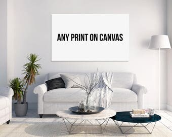 Any Photo on Canvas