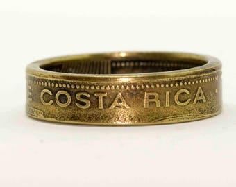 Costa Rica 100 Colones (1998) Coin Ring