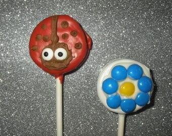 Outdoor Garden Fun Oreo Cookie Pops