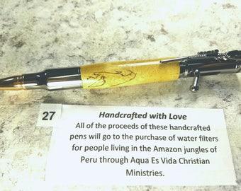 30 Caliber Bolt Action Pen