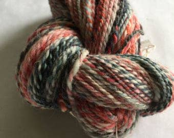 Handspun cheviot wool yarn