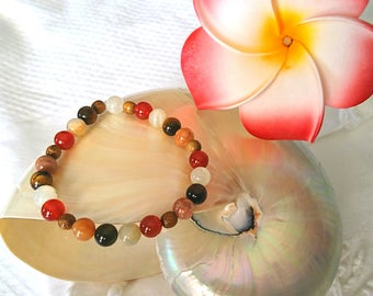 Beautiful bracelets for women or mixed mala style!