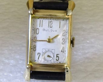Vintage 1948 Bulova Men's Watch 21 Jewels