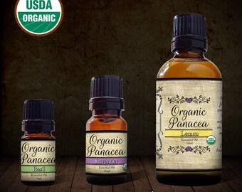 Basil Essential Oil | certified organic, steam distilled |