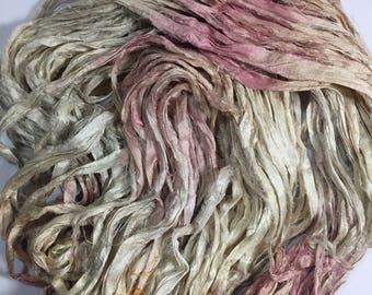Blush Sari Silk Ribbon