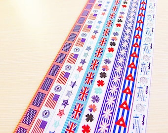 Origami Lucky Star Paper Strips Fun with Flag - Pack of 160 Strips