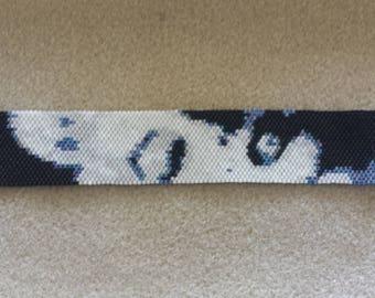 Marilyn peyote Cuff Bracelet