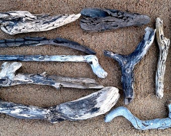 Black Driftwood - 10 Large Pieces With FREE US SHIPPING