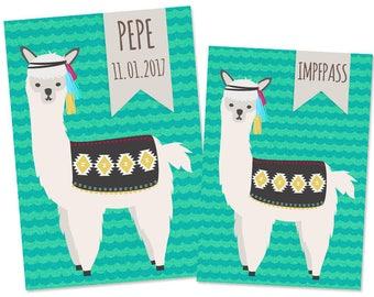 U magazine cover sleeve Llama Alpaca / / name