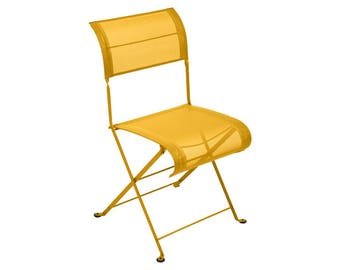 Outdoor folding chair - Fermob Dune patio chair