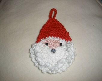 Crochet Santa head