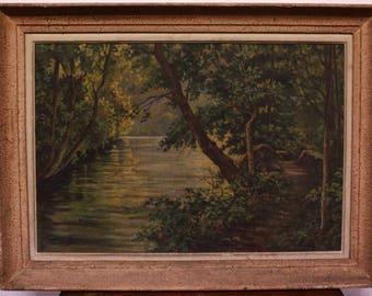 Painting landscape oil painting landscape oil canvas framed
