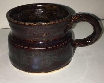 Thrown Mug with Hand-made Handle 18