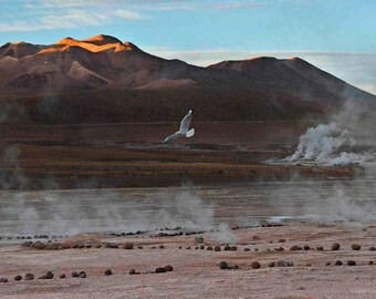 Original fine art photography print - Atacama El Tatio