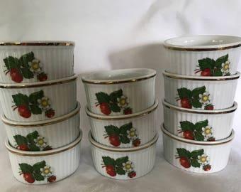 French custard cups