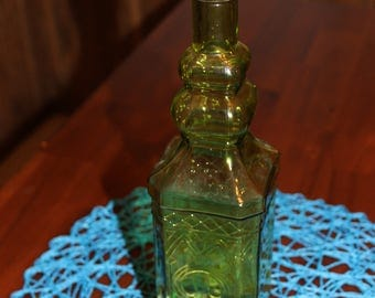 Corked Glass Bottle Square