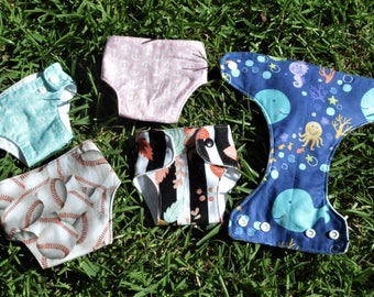 Baby Doll Cloth Diaper